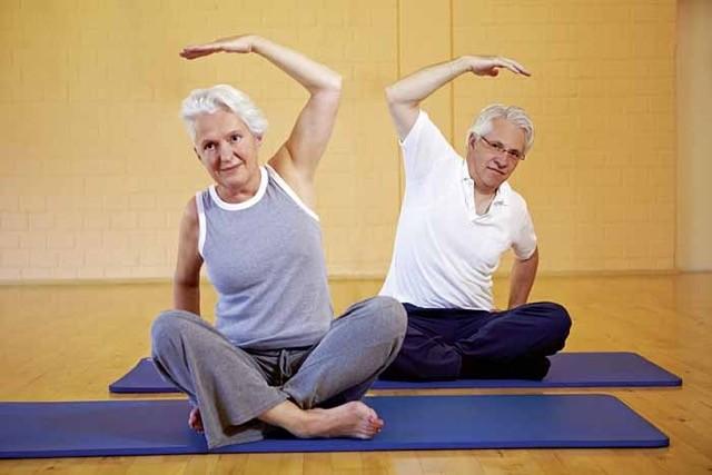 пилатес для пожилых людей