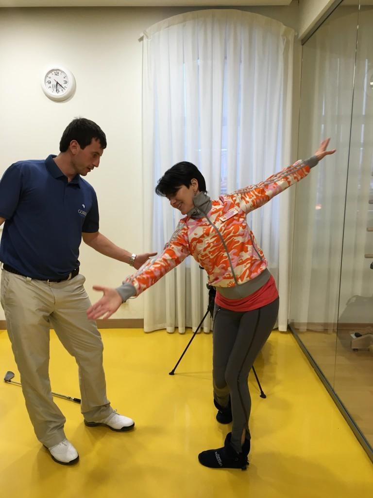 открытый урок по гольфу 7