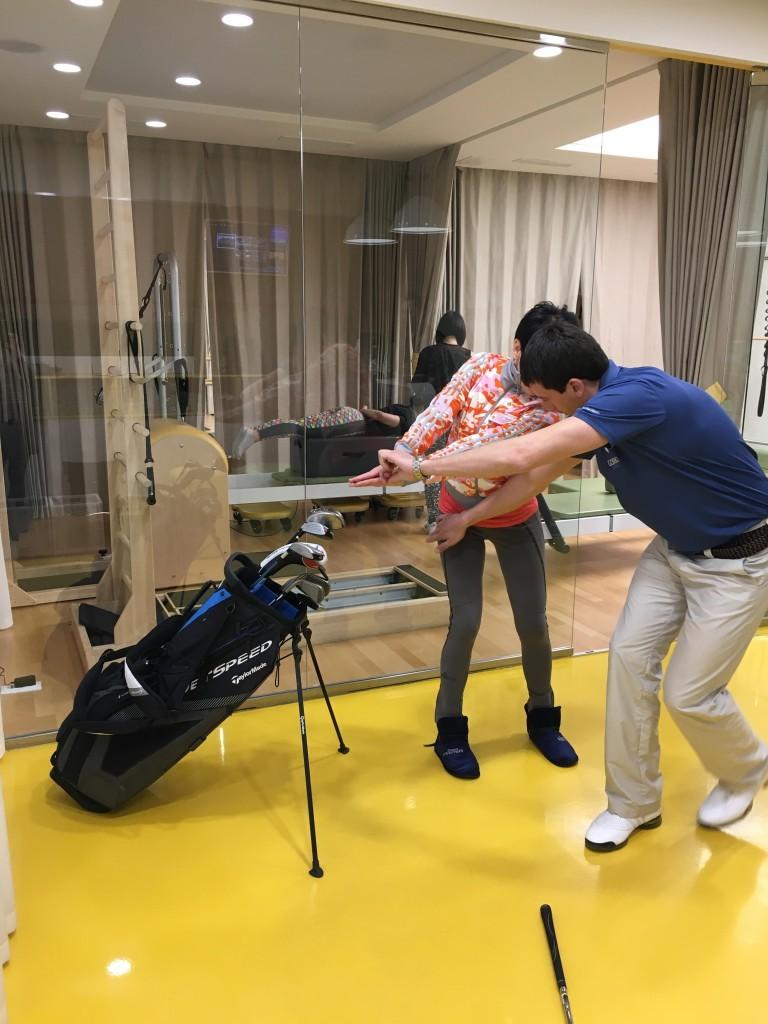 открытый урок по гольфу 6