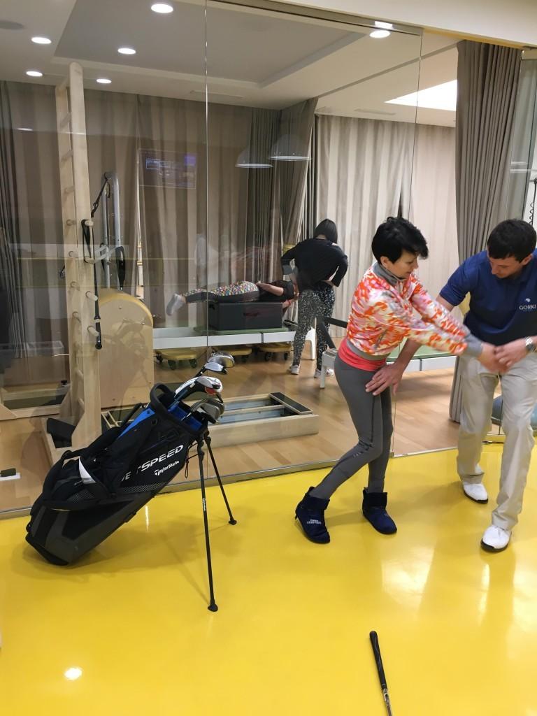 открытый урок по гольфу 5