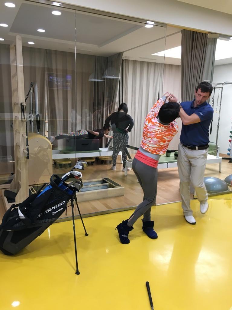открытый урок по гольфу 4
