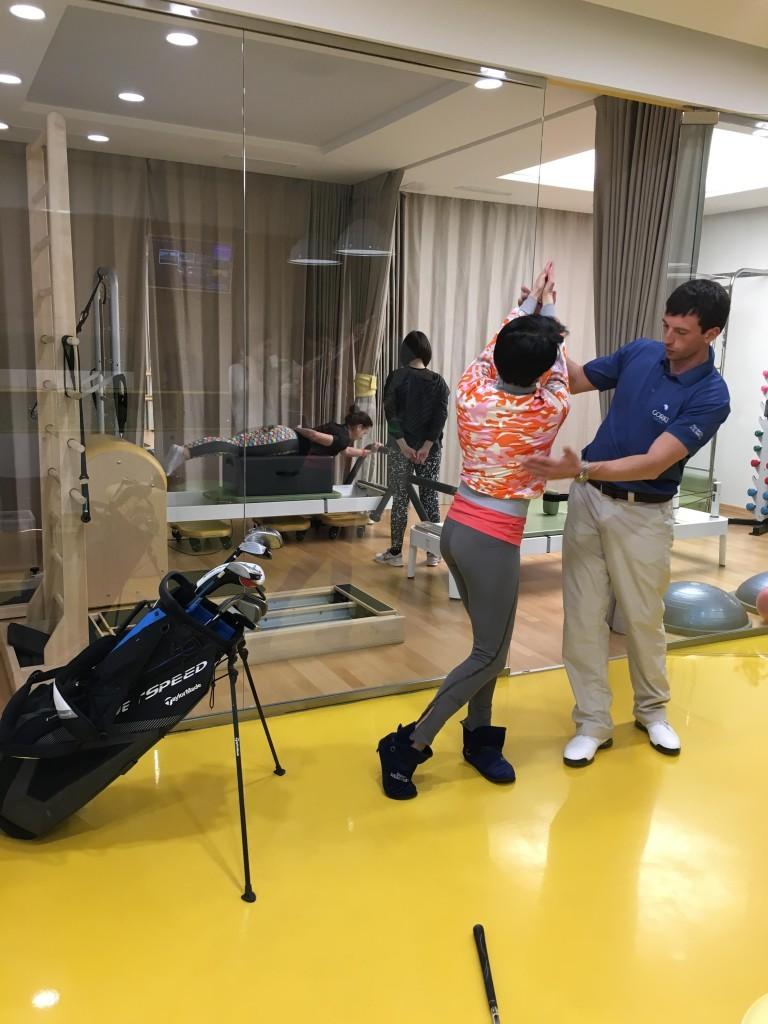 открытый урок по гольфу 3