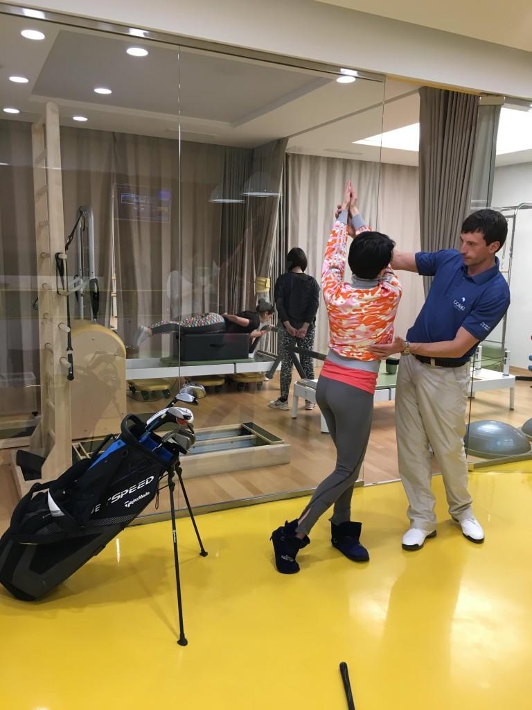 открытый урок по гольфу 2