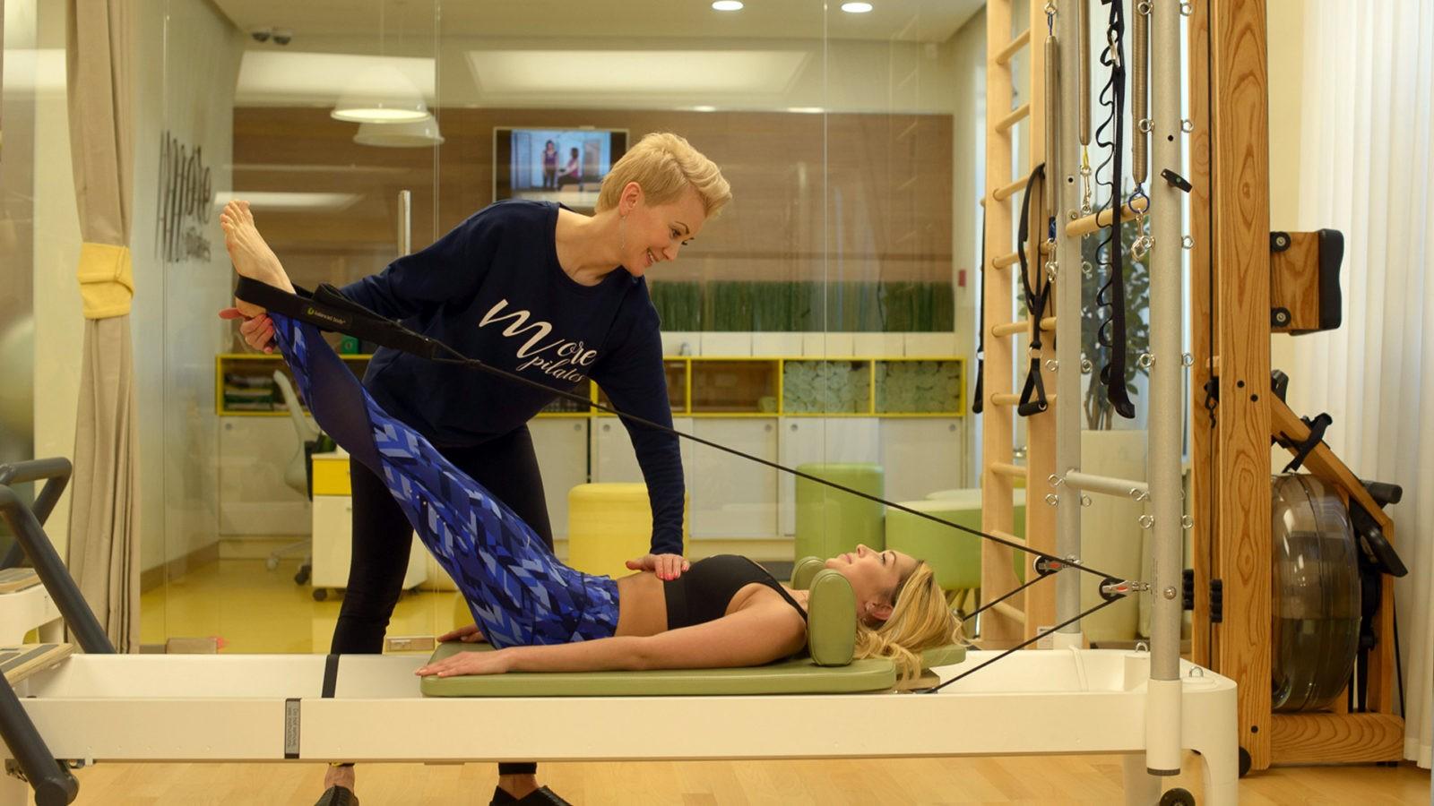 Персональные тренировки в MORE Pilates