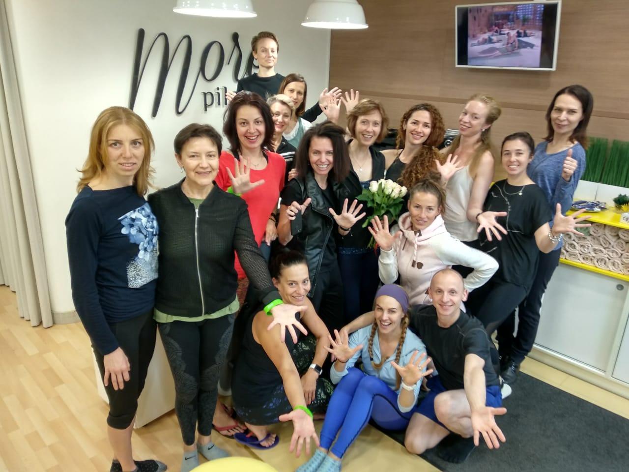 Аттестация мастер-тренеров Balanced Body по региону Восточная Европа